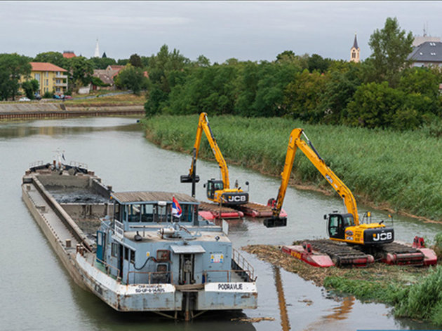 Čišćenje kanala Begej