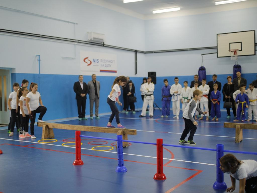 Uz podršku NIS-a otvoren sportsko-rekreativni centar u Kanjiži