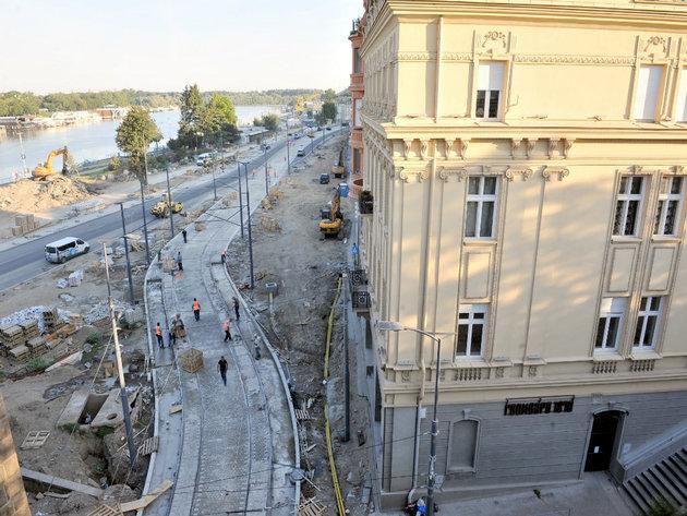 Price of square meter in Karadjordjeva Street to be EUR 10,000?