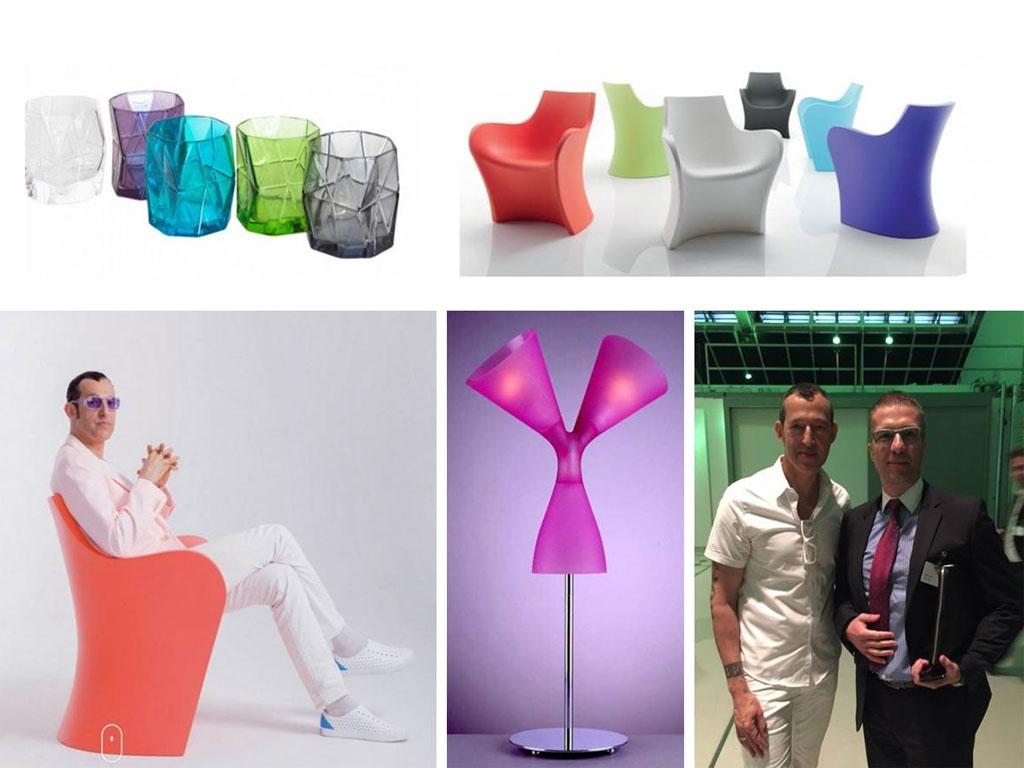 Karim Rašid prezentuje nove trendove u dizajnu aplikacija od plastike