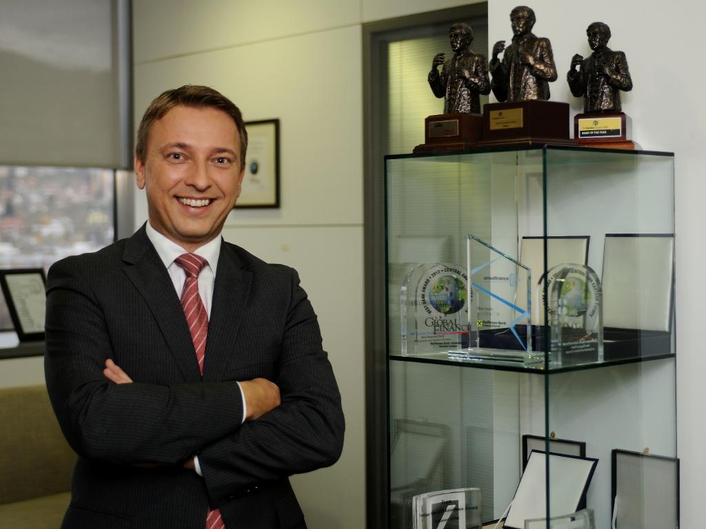 Karlheinz Dobnigg, predsjednik Uprave Raiffeisen bank BiH - Ostvarili smo rast u svim segmentima poslovanja