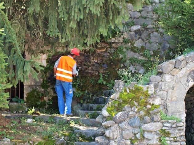 Počela obnova južnog bedema Kastela - Vrijednost radova 120.000 KM