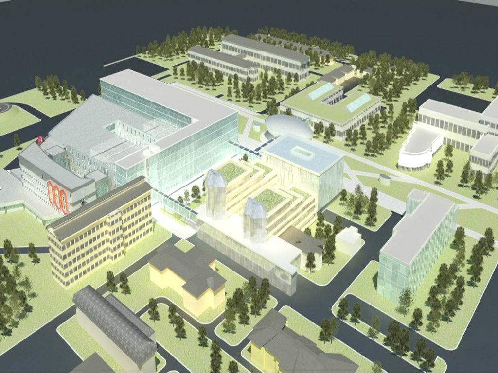 Počela rekonstrukcija i dogradnja Kliničkog centra Vojvodine - Grade se blokovi B i C, vrednost radova 28,5 mil EUR