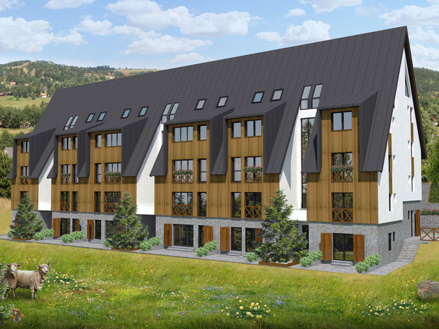 Kej from Valjevo starts construction of apartment building in Divcibare