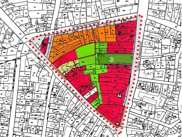 Blok između Temerinske, Kisačke i Dositejeve ulice u Novom Sadu mogao bi da dobije nove zgrade, muzej, garažu...
