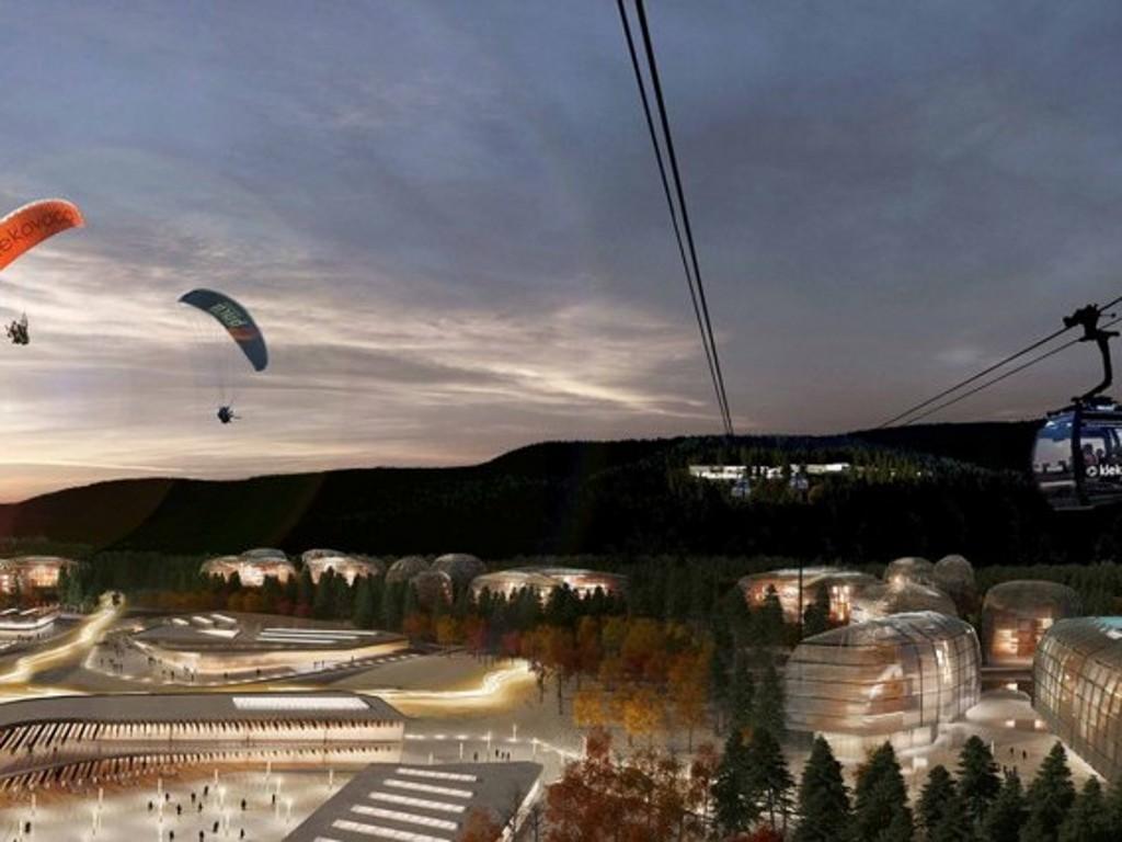 """Hoteli, skijališta i žičare na skoro 400 hektara - Kako će izgledati turistički centar """"Klekovača""""? (FOTO)"""