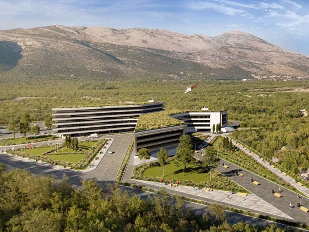 Predstavljeno idejno rješenje budućeg kliničkog centra u Trebinju (FOTO)