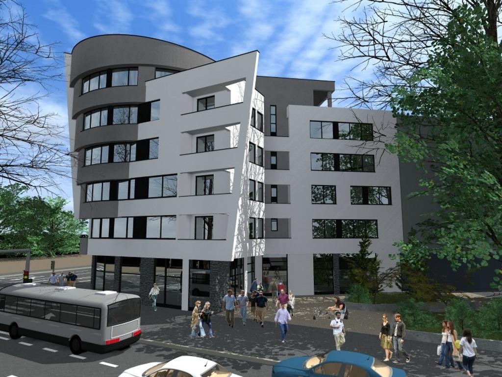 Tuzla dobija moderan stambeno-poslovni objekat Klosterska - Završetak gradnje u septembru 2017.