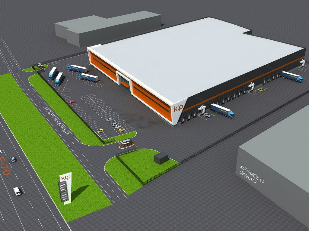 Otvara se gradilište najsavremenijeg logističkog centra kompanije KLP u Šimanovcima (FOTO, VIDEO)