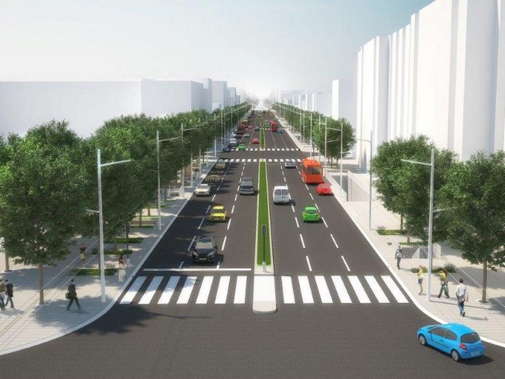 This is how Kneza Milosa Street will look like (PHOTO)