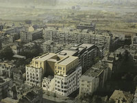 Seven buildings to be raised in former US embassy location – Take a look at Kneza Milosa Residence complex