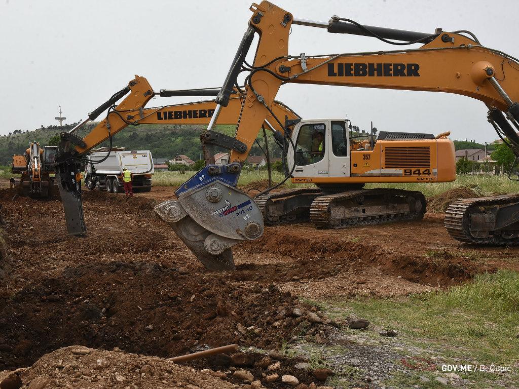 U Podgorici počela izgradnja primarnog kolektora - Krenula realizacija projekta vrijednog 50 mil EUR