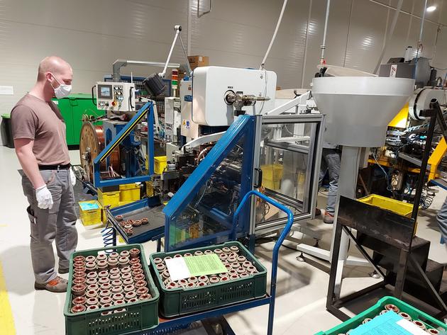 Počeo da radi prijedorski Kolektor - Tokom 2021. kreće gradnja još jedne hale za proizvodnju komutatora