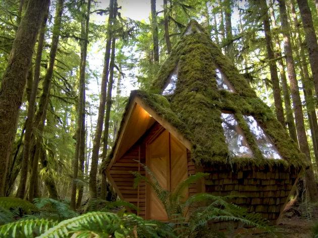 Diamond Cabin, raskošna koliba od drveta (VIDEO)