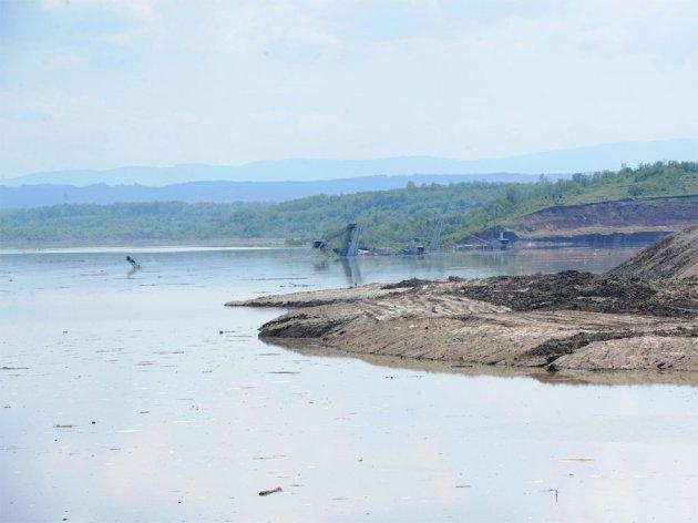 """Überfluteter Tagebau """"Kolubara"""""""