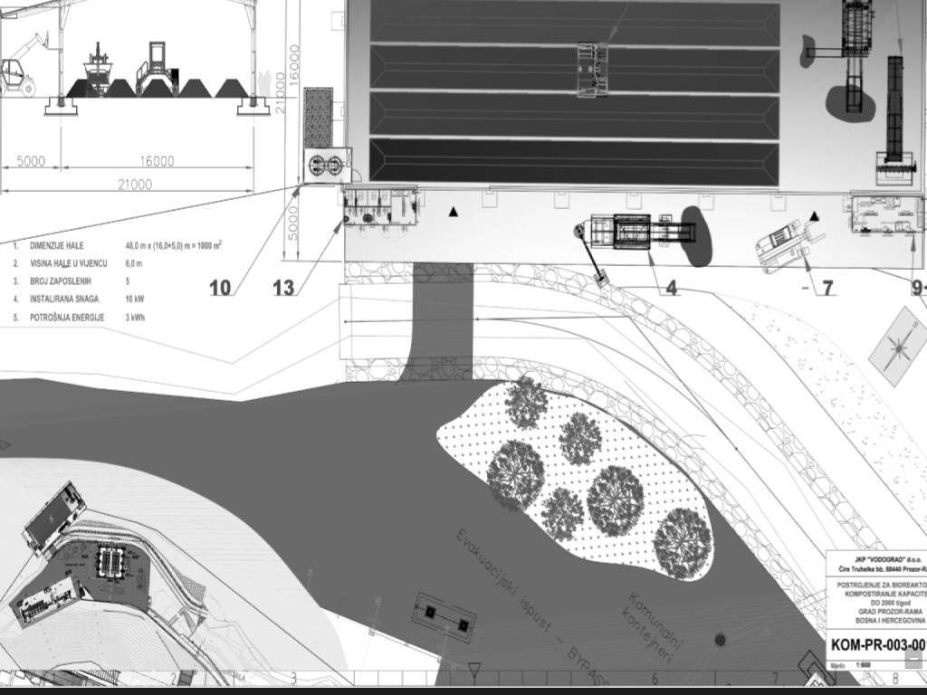 """Vodograd iz Prozor-Rame gradi kompostanu po sistemu """"ključ u ruke"""" - Raspisan tender vrijednosti 2,1 mil KM"""