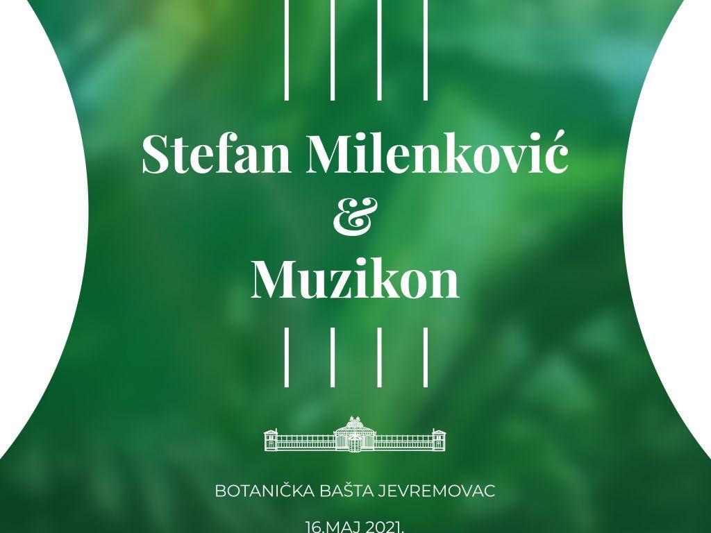 """Stefan Milenković i orkestar Muzikon na """"Čajanci"""" u Botaničkoj bašti"""