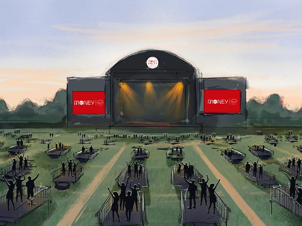 Ovako će izgledati prva koncertna arena sa obaveznom fizičkom distancom