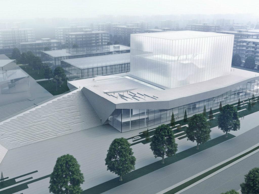 So wird die Konzerthalle in Nis aussehen