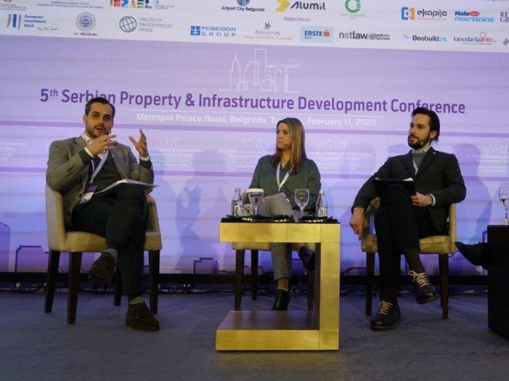 Šesta srpska konferencija o razvoju nekretnina i infrastrukture onlajn 23. marta