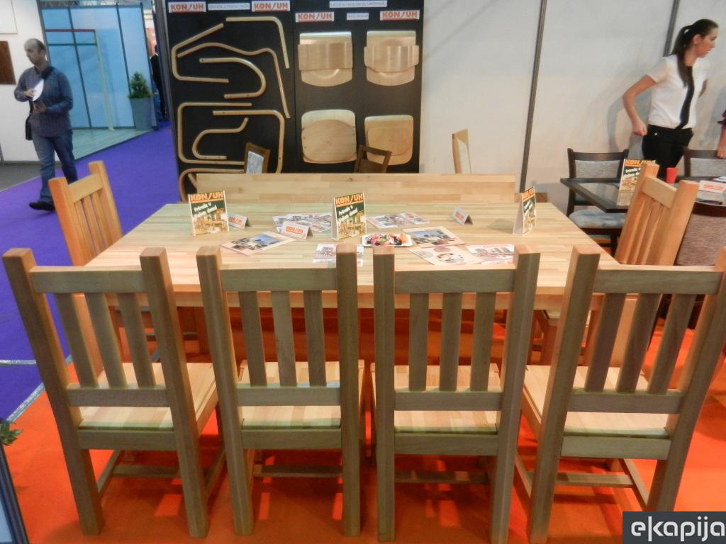 Pogoni finalne i polufinalne prerade u Konjuhu čekaju kupce - U međuvremenu fabrika izvozi stolove za Francusku