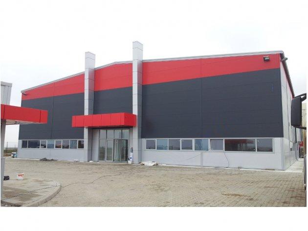 """Proizvodno-poslovni centar kompanije """"Indoadriatic industry"""" u Inđiji"""