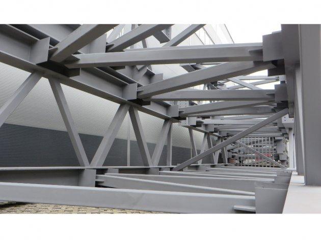 """Deo nove konstrukcije Žeželjevog mosta koji se proizvodi u """"Konstruktoru"""""""
