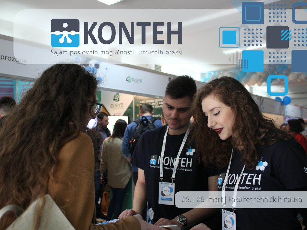 KONTEH - Sajam poslovnih mogućnosti i stručnih praksi krajem marta u Novom Sadu
