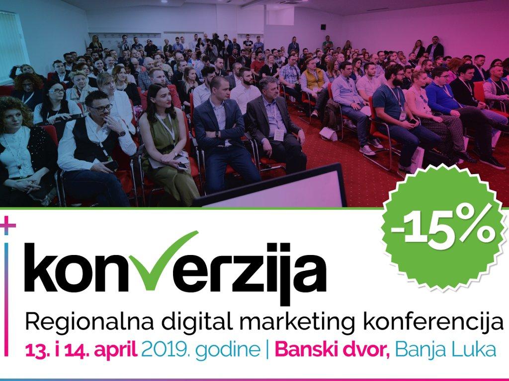 Veliki interes za regionalnu digital marketing konferenciju Konverzija