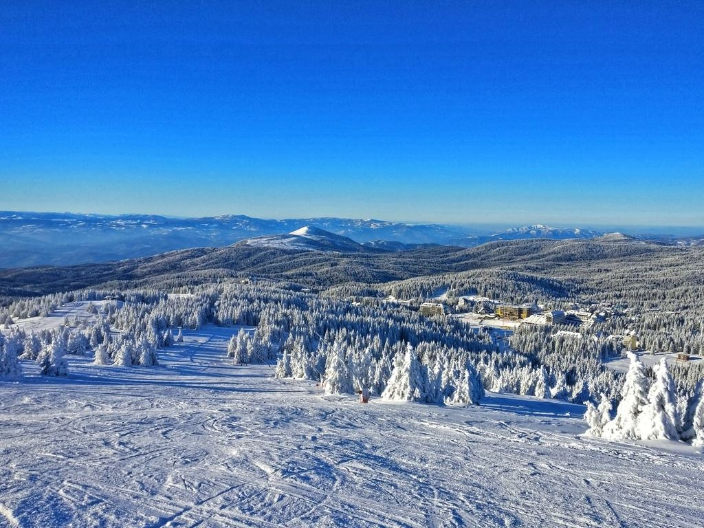 Large Number of Ski Tracks and New Gondola Soon to be Operational on Kopaonik