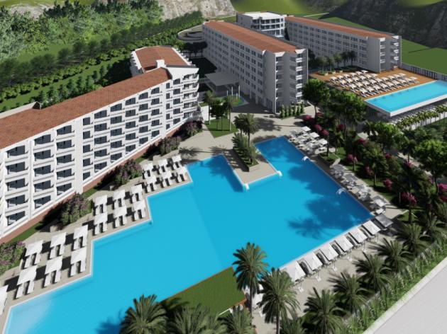 Hotelski kompleks Korali u Sutomoru dobija nove sadržaje - Nakon rekonstrukcije i dogradnje imaće 408 soba, bazene, rekreativni centar i event salu (FOTO)