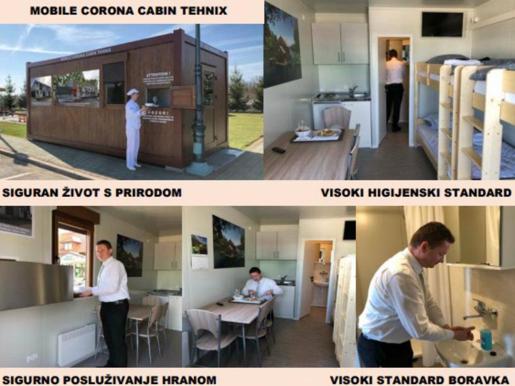 Hrvatska kompanija Tehnix osmislila kabinu za prevenciju virusa korona