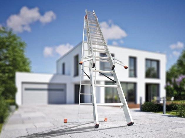 Neue Normen erhöhen Sicherheit auf Baustellen - Deutsches Unternehmen KRAUSE erzeugt mobile Gerüste und Leiter seit mehr als 100 Jahren