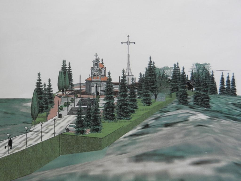 Pravoslavlje, istorija i ktitorstvo - Na uzvišenju Krstova gora u Tesliću uskoro niče kompleks sa crkvom, a kasnije i ostali sadržaji
