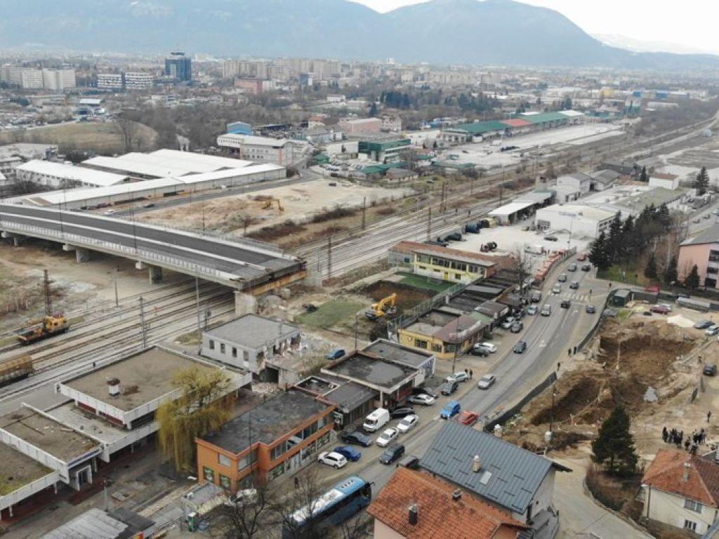 Počela izgradnja kružnog vijadukta na devetoj sarajevskoj transverzali - Vrijednost radova 4,9 mil KM