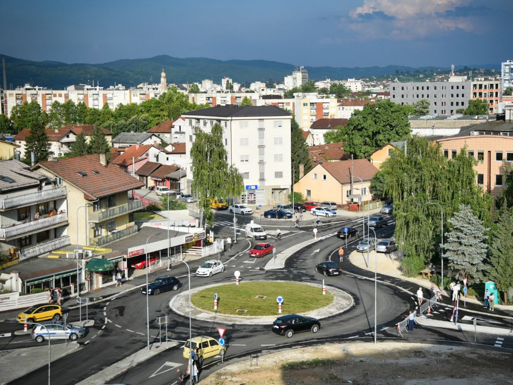Zvanično pušten novi kružni tok u Banjaluci - Planirana gradnja još pet raskrsnica