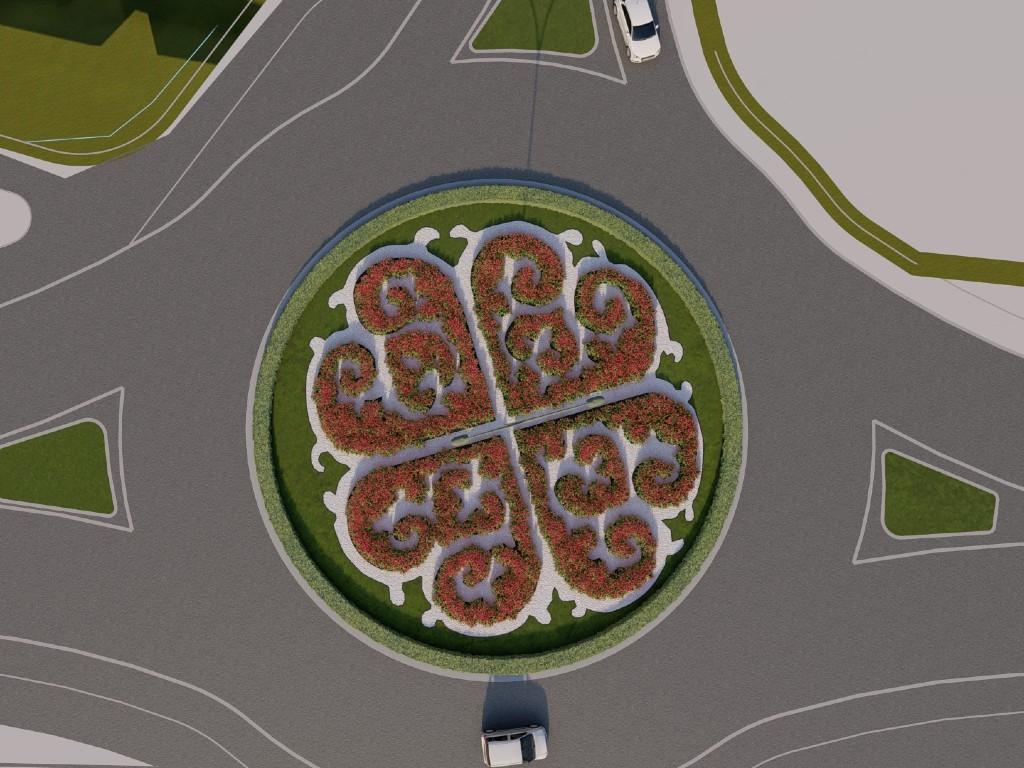 Simboli grada kroz pejzažno uređenje - Ovako će izgledati kružni tokovi u Kraljevu (FOTO)