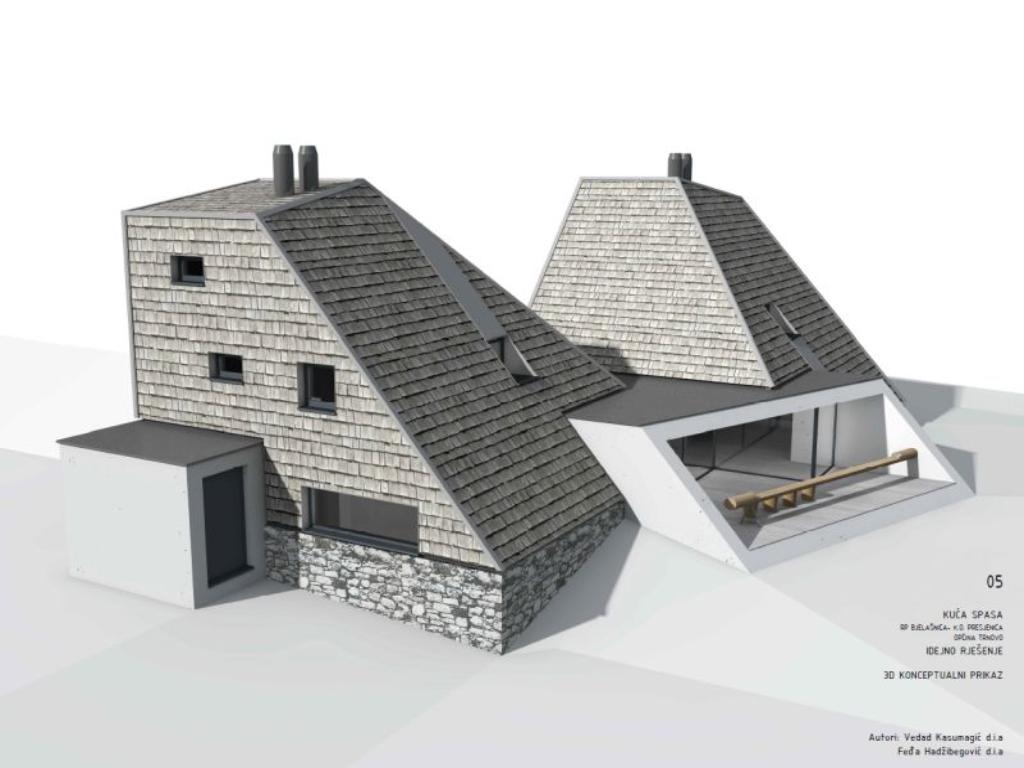 Kompanija Neimari gradi Kuću spasa u Trnovu - Rok za završetak radova 24 mjeseca