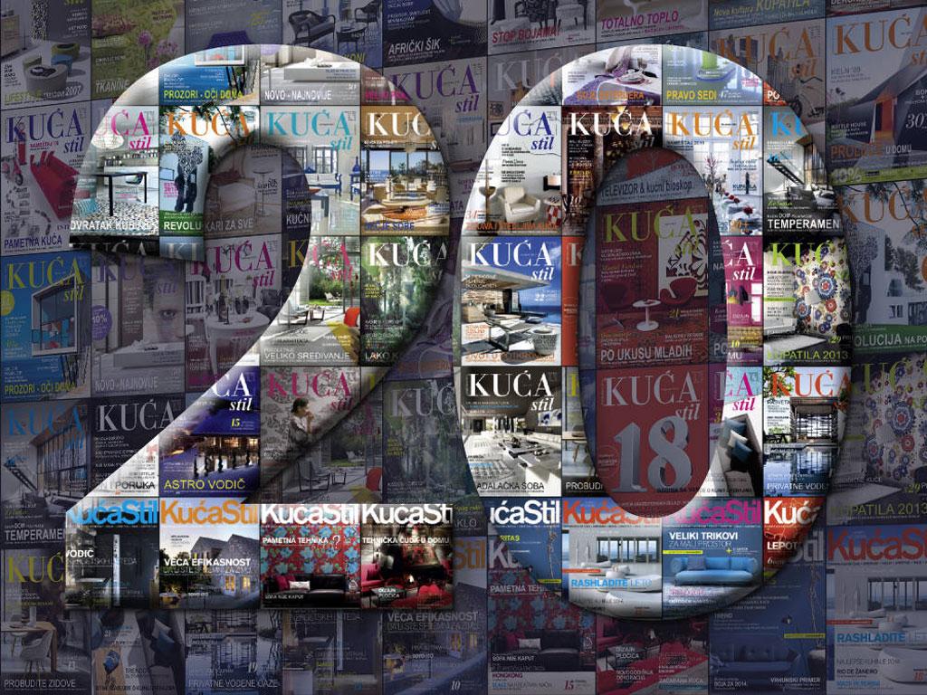 "Dvadeset godina časopisa ""Kuća stil"""