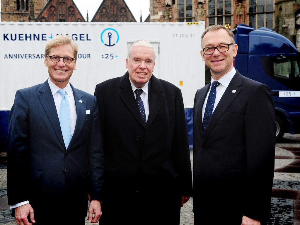 """Iz Bremena u ceo svet - Početak proslave 125 godina rada kompanije """"Kuehne Nagel"""""""