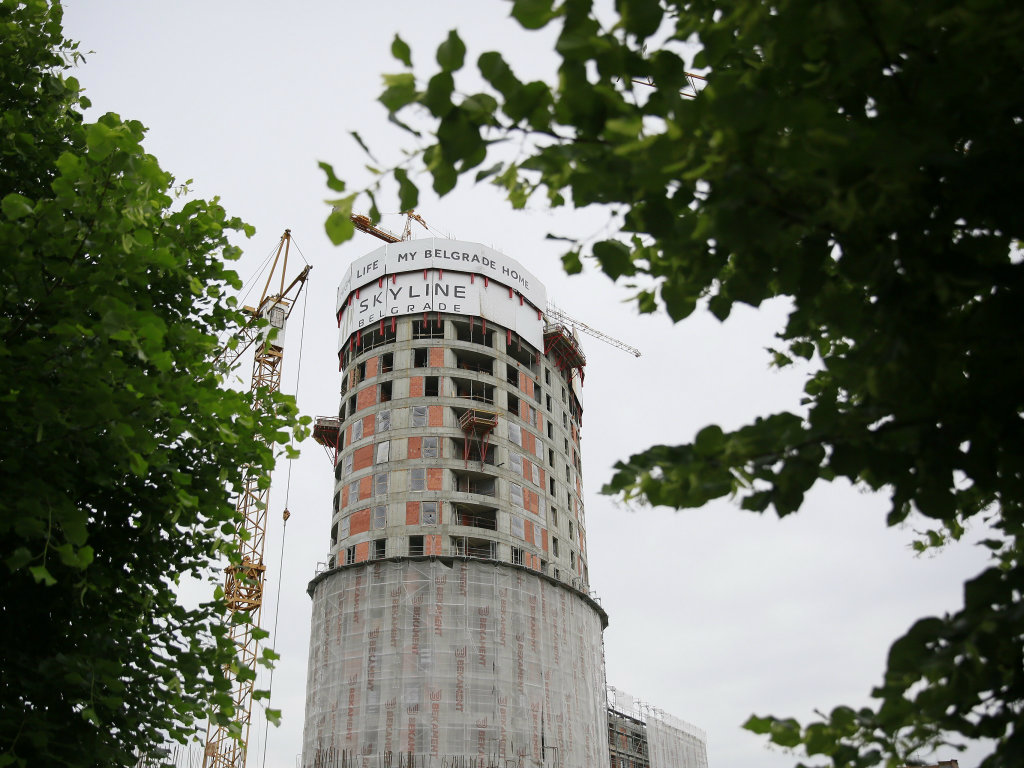 First residents of Skyline Belgrade complex to move in as soon as late 2019 – Final works being carried out on A tower