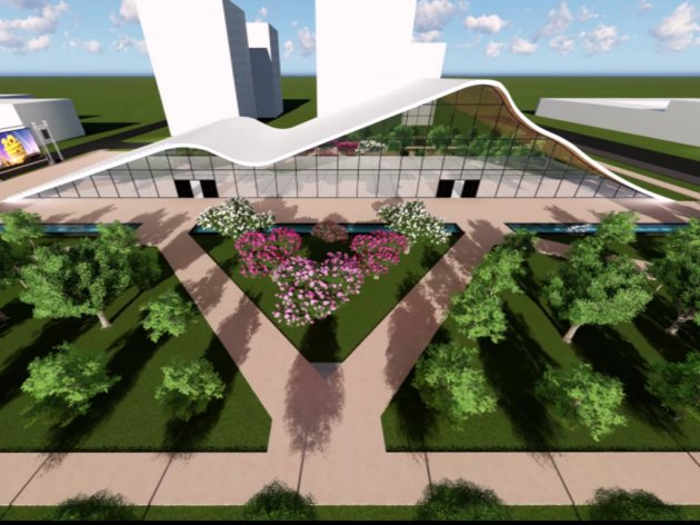 Idejno rešenje za Kulturni centar Novo Naselje