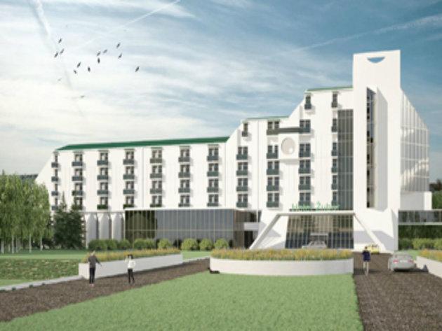 Planirani izgled hotela Žubor