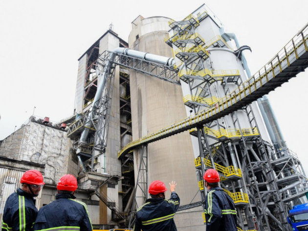 The commissioning of the new technological line