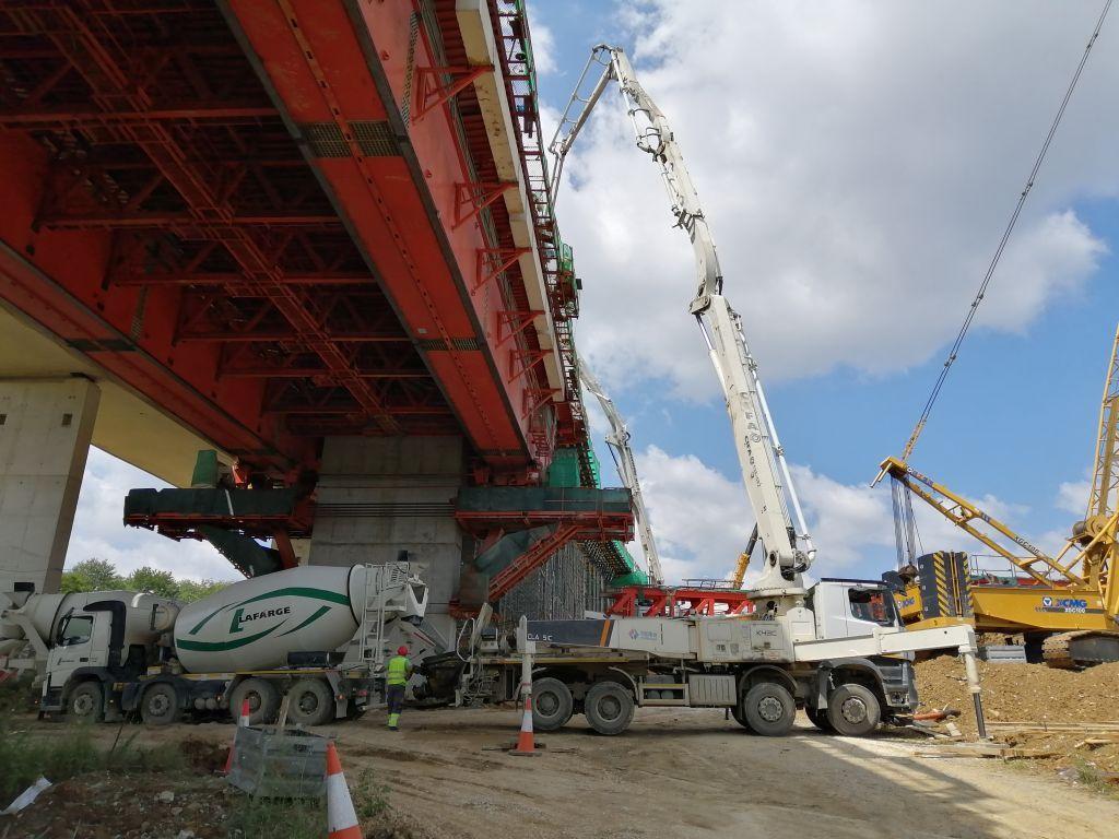 Hlađeni Lafarge beton - Kako u ekstremnim vremenskim uslovima ispoštovati zahtevnu dinamiku izgradnje?