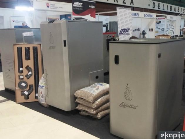 Lafat Komerc godišnje proizvede 15.000 kotlova na pelet - Većina proizvodnje namijenjena izvozu