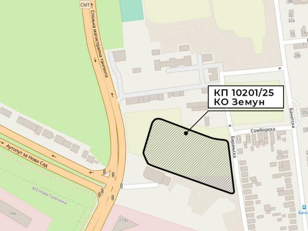 "City of Belgrade Selling 2 ha of Building Land Near ""Lakat Krivina"" in Zemun – Initial Price RSD 319 Million"