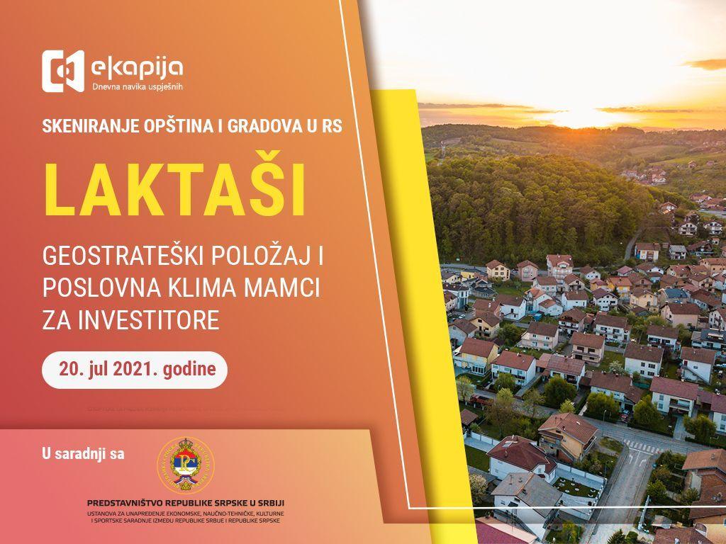 Geostrateški položaj i poslovna klima mamci za investitore - Laktaši u projektu Skeniranje opština i gradova RS