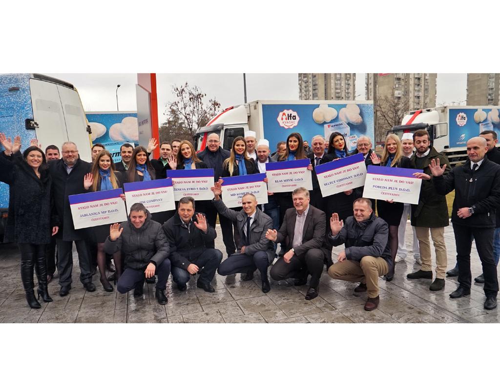 Kompanija Lesaffre nagradila najbolje distributere - Sedam kompanija dobilo nova dostavna vozila