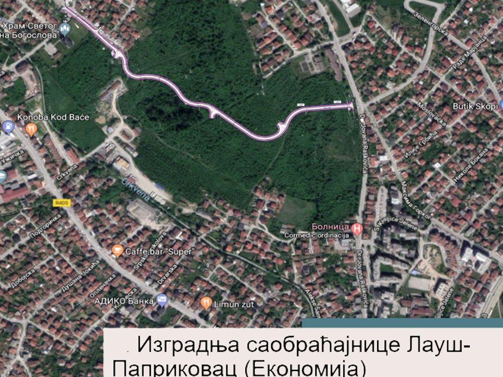 Počela izgradnja spoja Lauša i Paprikovca u Banjaluci - U planu novo naselje uz saobraćajnicu